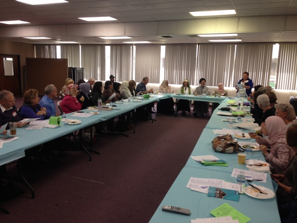 Pacifica OC hosted Newport Mesa Irvine Interfaith Council's Discussion