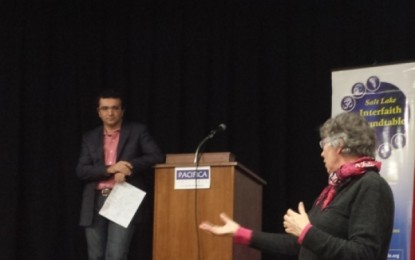"""Pacifica Institute of Utah hosted a lecture on """"A Call Interfaith Action"""""""