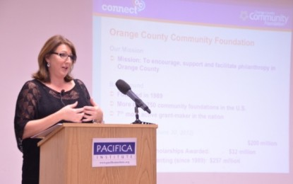 The Orange County Community Foundation (OCCF) made a presentation at the OC Branch