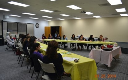 The First Pacifica Institute Cooking Class in 2014 Took Place at the San Diego Branch