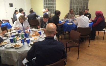 Pacifica LA hosted an iftar dinner for Local and Federal Law Enforcement Personnel
