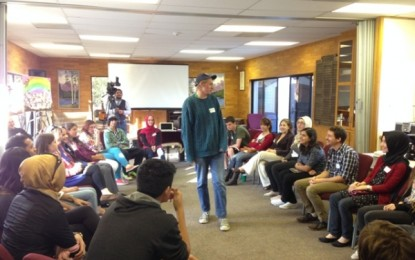 Muslim, Jewish and Christian youth came together to learn more about each other