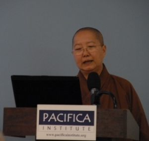 Pacifica Institute was happy to host Venerable Miao Hsi at its Los Angeles branch as part of its Interfaith Conversation Series