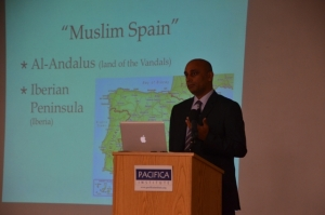 """Prof. Munir Shaikh speaks on """"Remembering Muslims Spain as an Interreligious Model"""""""