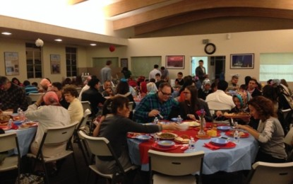 Pacifica Institute gathered with its extended family to share a Thanksgiving feast at its San Fernando Valley Branch