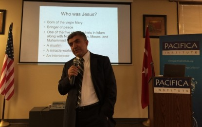 "Pacifica Institute Seattle hosts ""Islam's Jesus"" by Dr. Zeki Saritoprak"