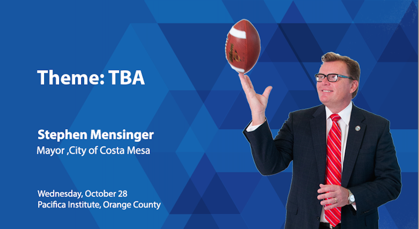 OC Luncheon Forum with Costa Mesa Mayor Stephen Mensinger