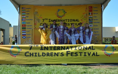 Celebrating Diversity in the Bay Area with Children from 20 Different Cultures