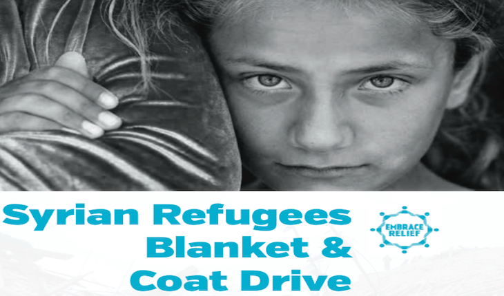 Blanket & Coat Drive for Syrian Refugees