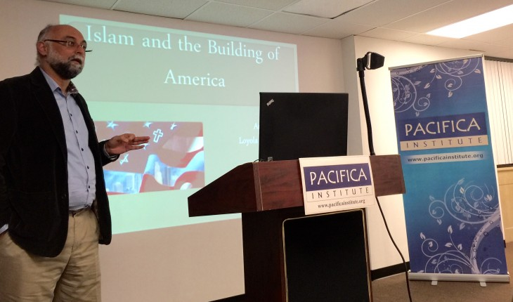 "Dr. Amir Hussain:""American values and Islamic values are intertwined and are not as different as imagined."""
