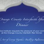 Orange County Interfaith Iftar Dinner