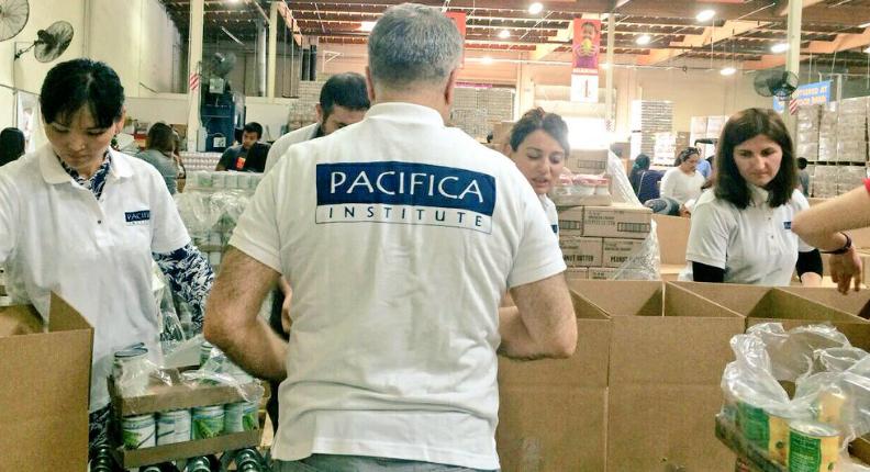 Pacifica Food Bank Volunteer