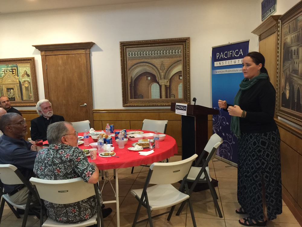 Members of Christian-Muslim Consultative Group Came Together to Break Fast at Pacifica LA