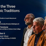 Panel: Mercy in the Three Abrahamic Traditions