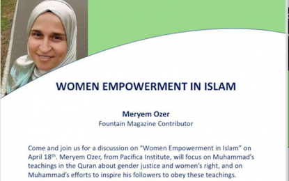 Talk: Women Empowerment in Islam