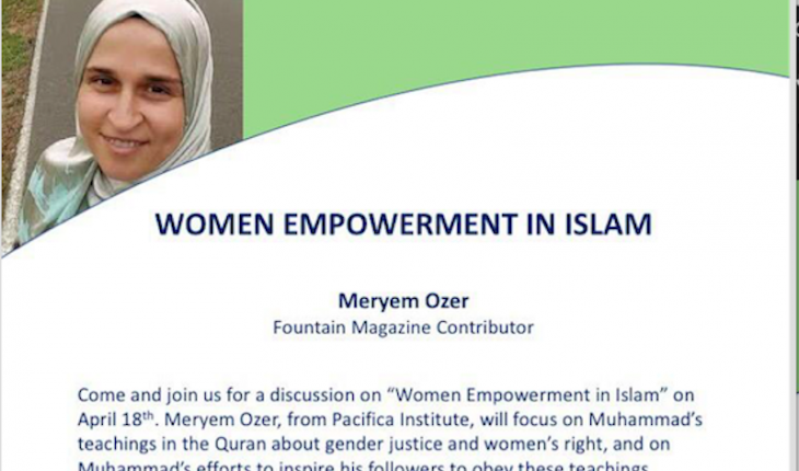 Talk: Women Empowerment in Islam