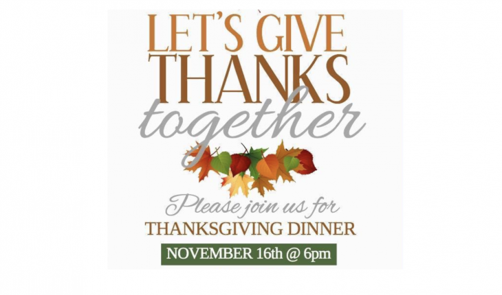 Let`s Give Thanks Together
