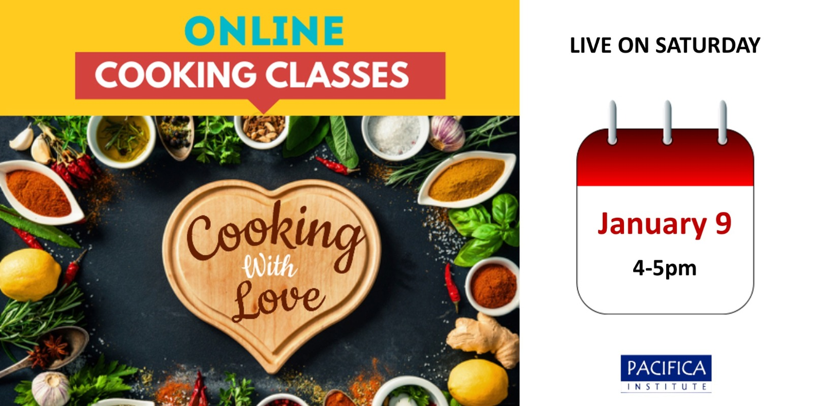 Pacifica Institute Online Cooking Class: Salads