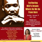 'Furthering MLK's Dream: Where Do We Go From Here'