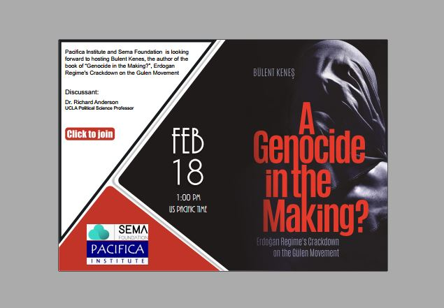 "Book Talk: 'A Genocide in the Making?: Erdogan Regime's Crackdown on the Gülen Movement"" by Bulent Kenes"
